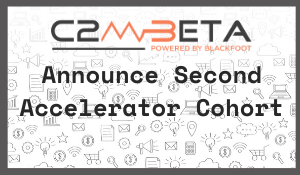 Image stating the announcement of the second cohort of companies for C2M Beta Accelerator